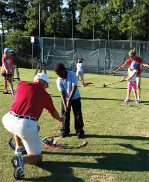 Teaching, one swing at a time