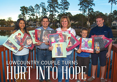 Lowcountry couple turns hurt into hope